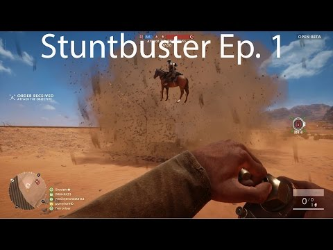 Stuntbuster Ep. 1: Can You Launch Vehicles in BF1?