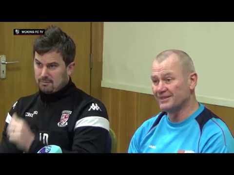 Woking vs Watford   FA Cup 3rd Round   Full Press Conference
