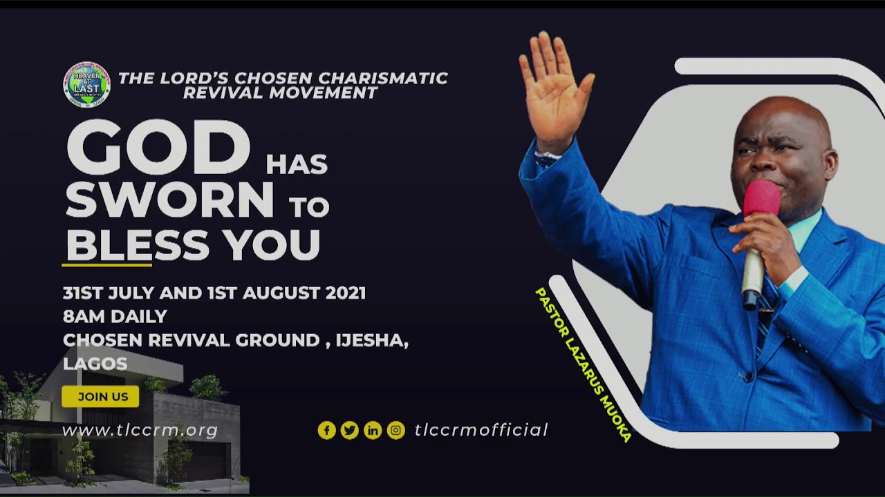 Download GOD HAS SWORN TO BLESS YOU 2021. DAY 1 || 31-07-2021