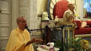 HH Radhanath Swami lecture and kirtan, Villa Vrindavana, Italy