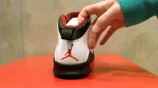 "Air Jordan X Retro ""Chicago"" Review at Exit 36"