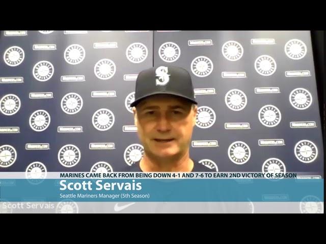 Scott Servais on Comeback 2020-07-30