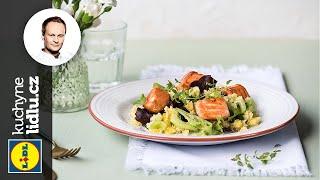 Kuskusový salát s ananasem a lososem - Marcel Ihnačák - RECEPTY KUCHYNĚ LIDLU