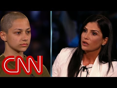 Shooting survivor confronts NRA spokesperson Dana Loesch