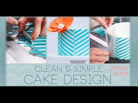 clean simple cake design cake decorating class presentation inger json