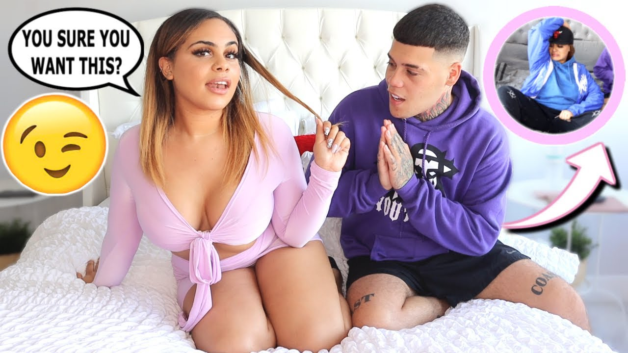 TURNING MY BOYFRIEND ON AND THEN OFF PRANK!!