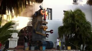 Fishbon Robot at the Santa Barbara Courthouse 2012 - Sci-Fi Movie Night