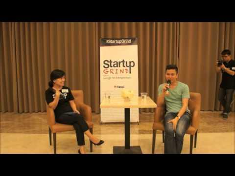Dzung Dang (Uber Vietnam) at Startup Grind Hanoi