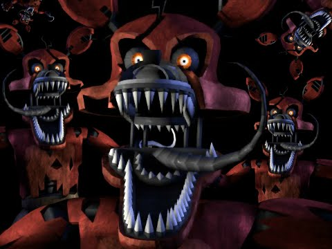 Funtime with Nightmare Foxy  YouTube