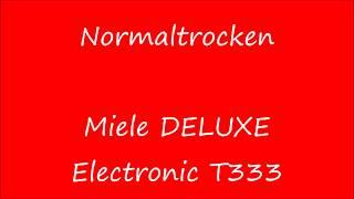 Miele HYDROMATIC W 701 + Miele DELUXE Electronic T333 | Pflegeleicht-Fein 40° & Normaltrocken