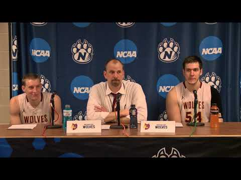 Game 2 - Northern State Press Conference