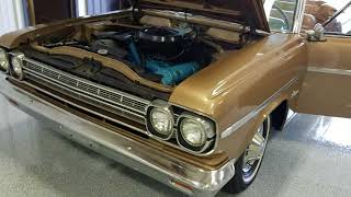 1966 AMC Rambler Classic 770 Convertible for sale Cold Start