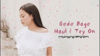 Gambar cover Gede Bage Haul & Try On!