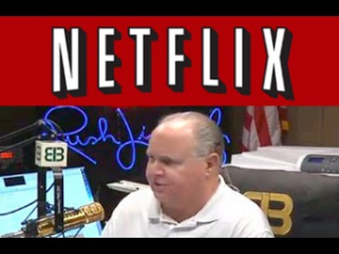 Rush Limbaugh Tell His Listeners Netflix Is Raising Prices, To Make a Point...