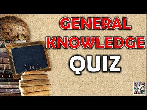 General Knowledge QUIZ!! Trivia/Test/Quiz