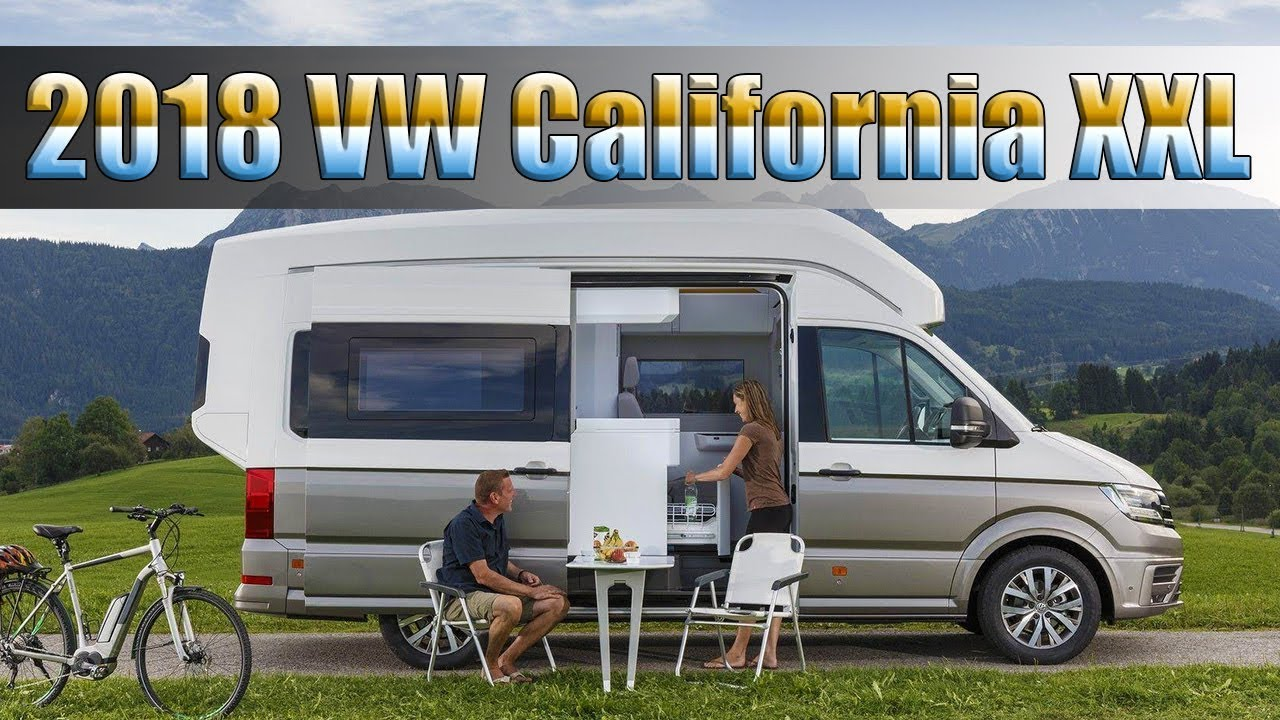 All New 2018 Volkswagen California XXL Crafter Camper Van