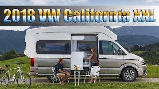 All-new 2018 volkswagen california xxl crafter camper van