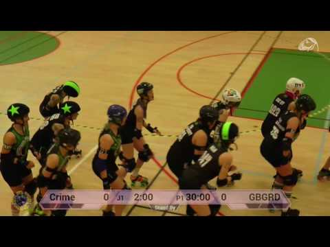 SM 2017, Elitserien: Crime City Rollers vs Gothenburg Roller Derby