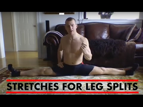 STRETCHES FOR LEG SPLITS