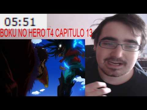 Midoriya vs Overhaul - BOKU NO HERO T4 #13