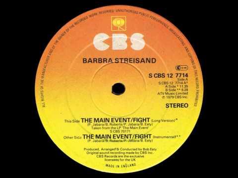 "Barbra Streisand -- The Main Event (1979) 12"""