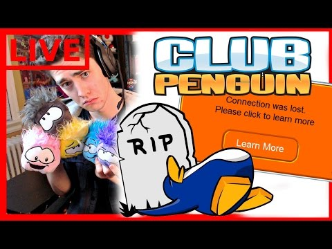 THE MOMENT CLUB PENGUIN ENDED [LIVE STREAM] 💀🐧💀