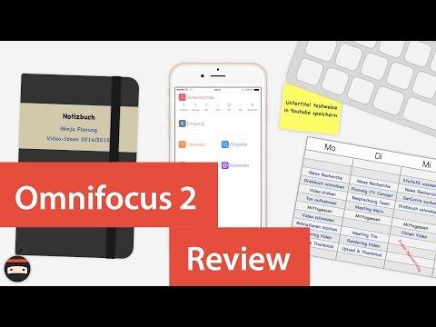 Omnifocus 2 Aufgabenverwaltung