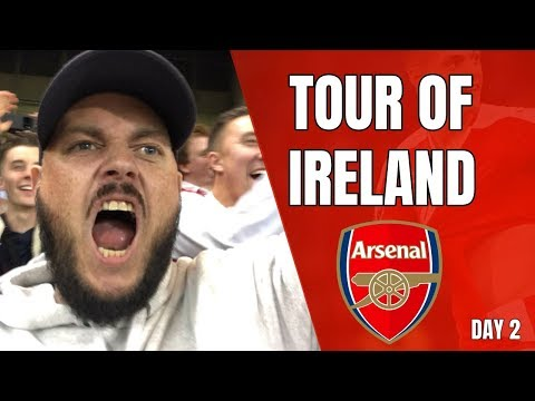 We Beat Chelsea........AGAIN - Tour Of Ireland - Matchday Vlog