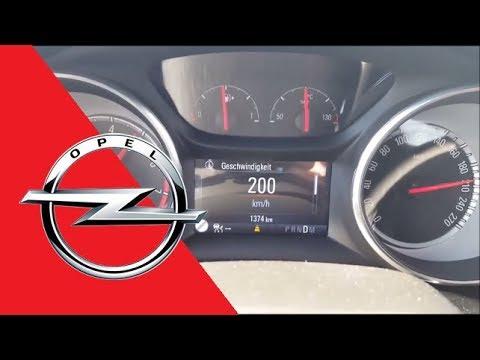 ➤ 2018 OPEL Astra 1.6 EDIT ecoFLEX K ST (200 HP) 0-100 km/h 0-200 mph 0-200 km/h Acceleration, Sound