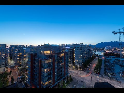 Olympic Village Sub Penthouse (1105-1788 Ontario Street) FOR SALE - PROXIMITY video tour