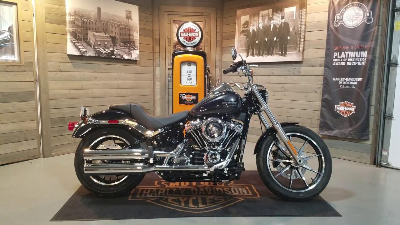 2019 Harley-Davidson Softail Low Rider FXLR- Midnight Blue ...