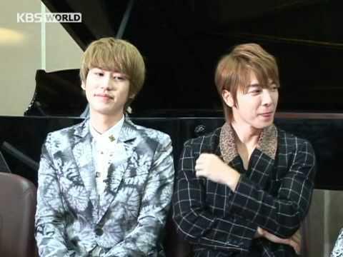 KBS WORLD Radio Arabic Interveiw with Super Junior Part-1