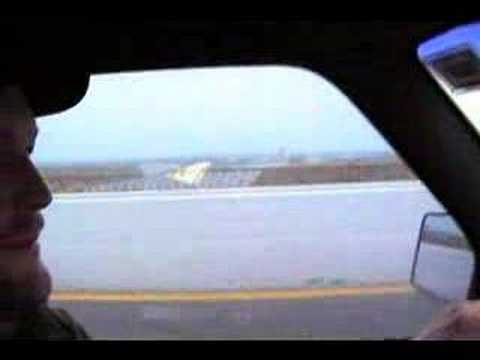Driving over the Tampico bridge