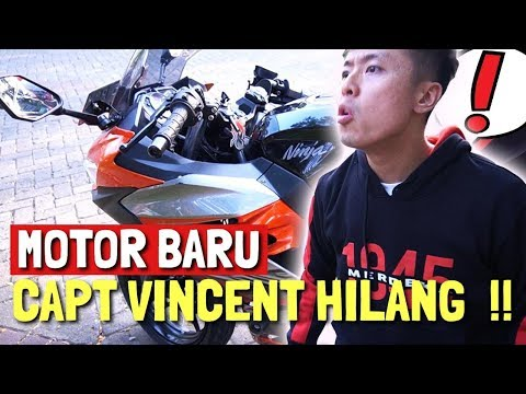 MOTOR BARU CAPTAIN VINCENT HILANG !!