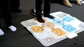 Micromania Game Show 2009 Wii tapis