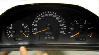 Mercedes Dashboard Instrument cluster pixel failure repair ribbon cable KIT