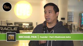 Pan's Mushroom Jerky Speaks on NOSH Live Experience