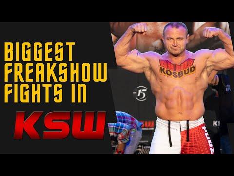 Biggest Freakshow Fights in KSW - New KSW YouTube channel for International Fight Fans