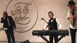 Спонтанное выступление на еврейской свадьбе Spontaneous performance at Jewish wedding in Moscow