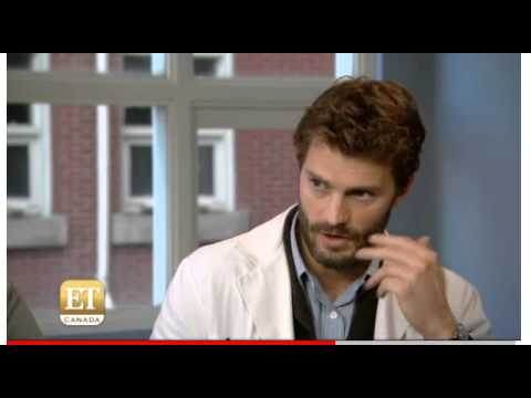JAMIE Dornan talks on filming The 9th life of Louis Drax on ET Canada 29 01 15