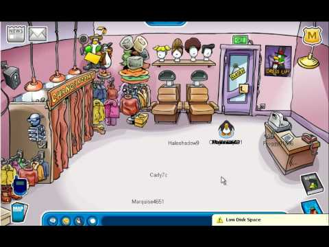 Club Penguin December 2008 pin and catolouge secrets