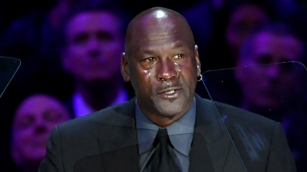 Michael Jordan Jokes About Crying Jordan Meme At Kobe Bryant S