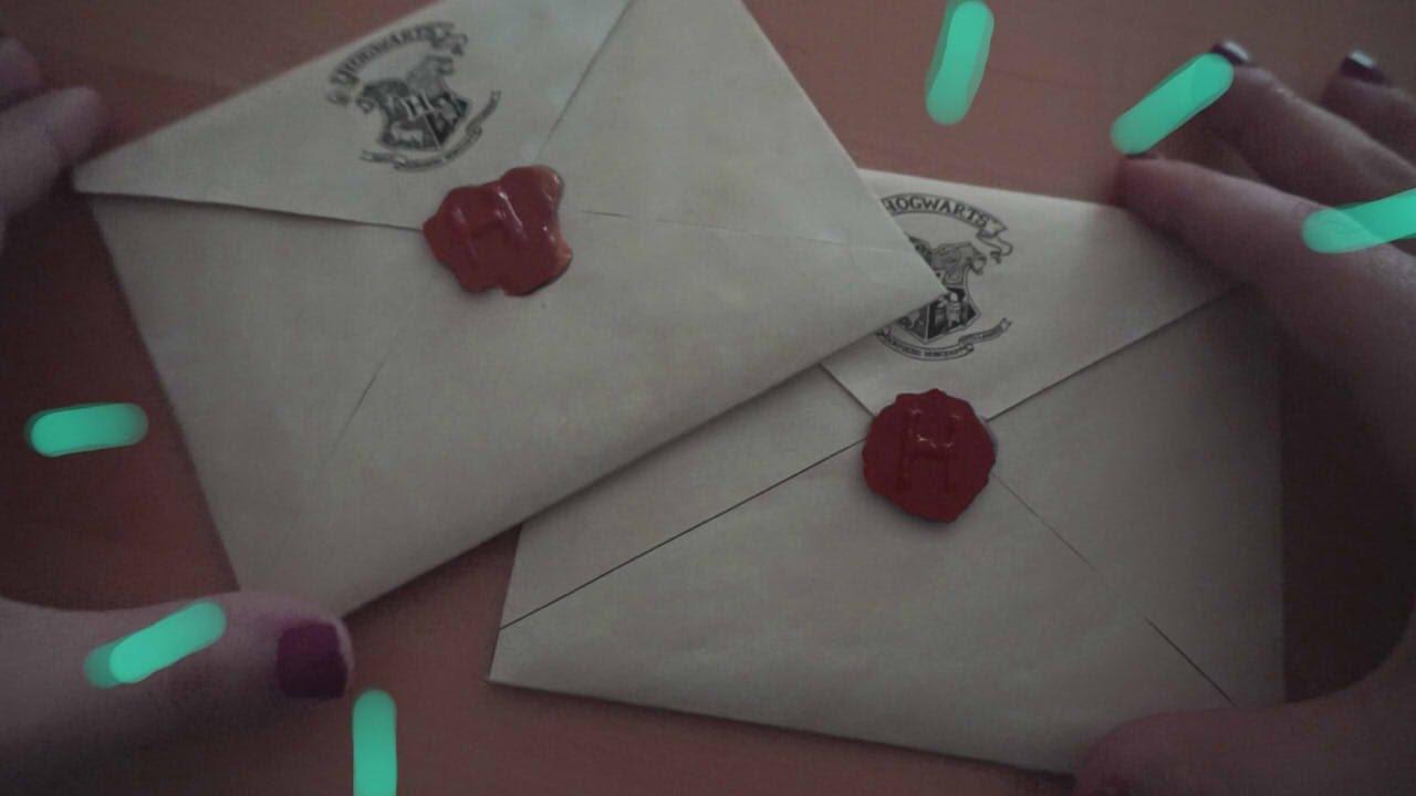 Haz tu carta de hogwarts diy harry potter youtube - Sobre de navidad para imprimir ...