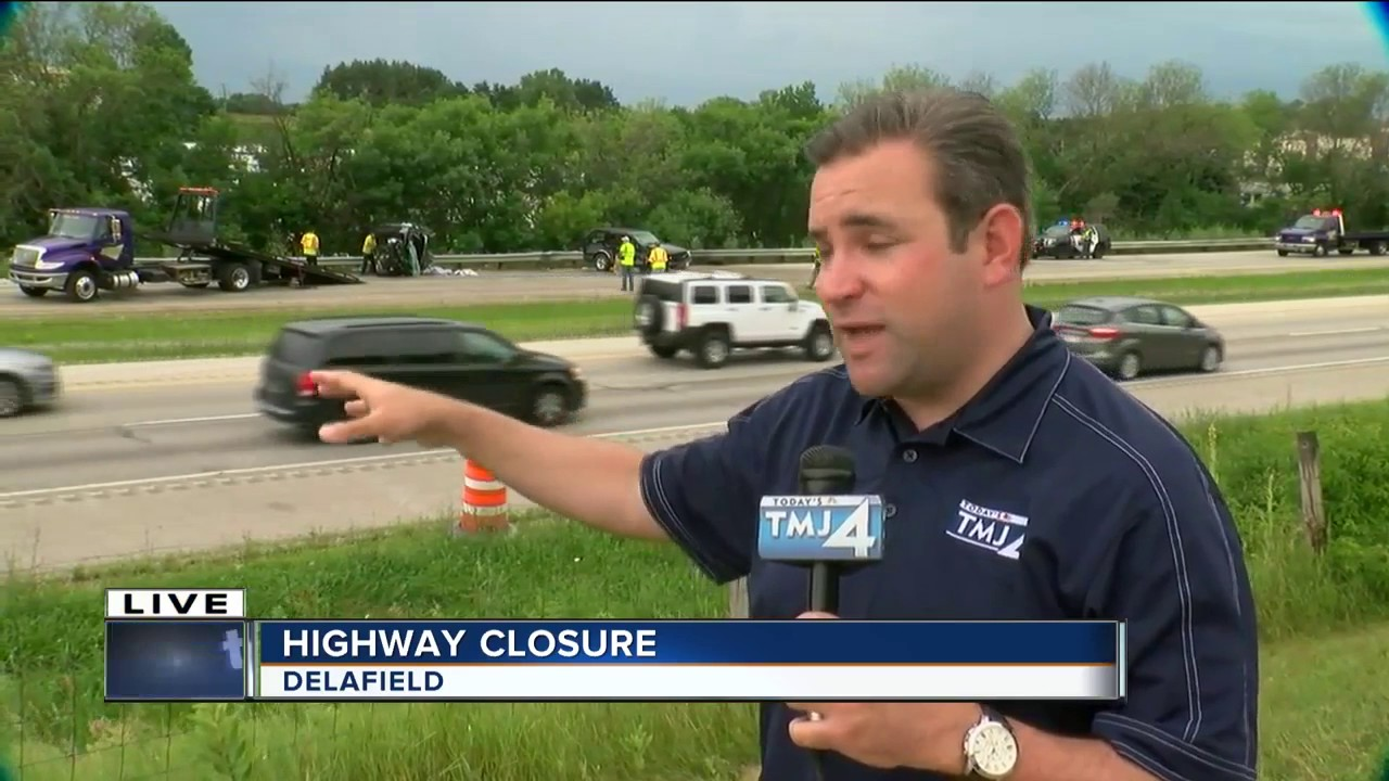 Car accident shuts down I-94 in Waukesha County