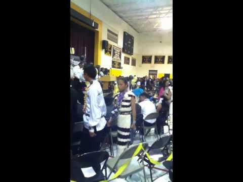 Class of 2012 lukachukai community school 8th grade promoti