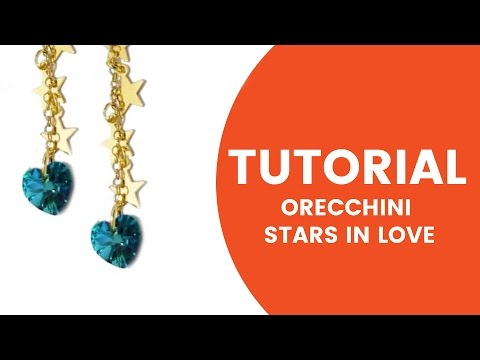 Video Tutorial Dooitu DIY   Orecchini Star in Love