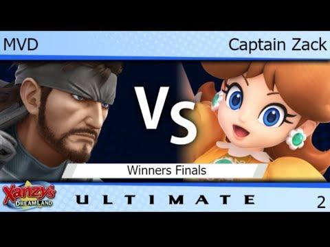 XDL 2 - WBG | MVD (Snake) vs Captain Zack (Daisy) Winners Finals - SSBU