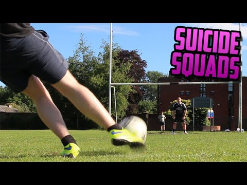 REAL LIFE FOOTBALL CHALLENGES!!! | FIFA 15 - SUICIDE SQUADS!!!