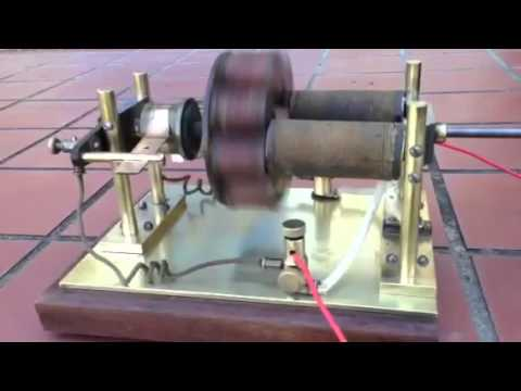Rare Antique Electric Motor
