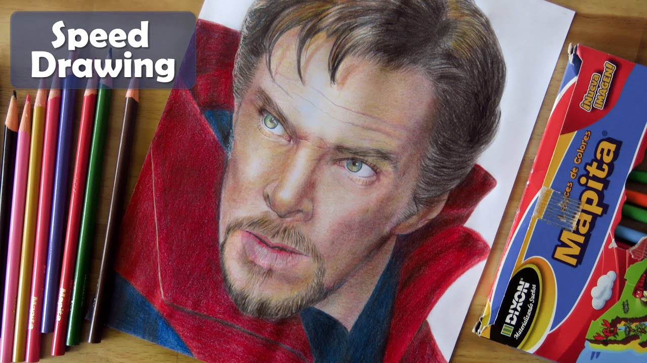 Drawing Dr. Strange